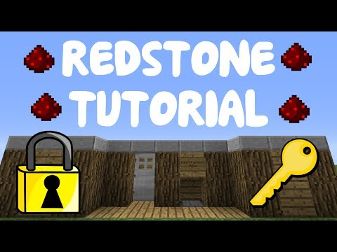 Minecraft 1.8: Redstone Tutorial – Password Locked Door