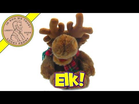 Singing Animated Christmas Reindeer or Bloated Moose Stuffed Animal Toy Kids Toy Reviews