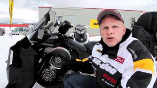 10. 2012 Ski-Doo Grand Touring Sport ACE 600 Snowmobile Review