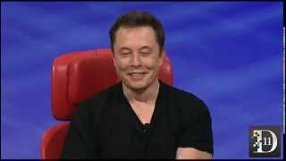 Elon Musk on the Hyperloop - D11 Conference
