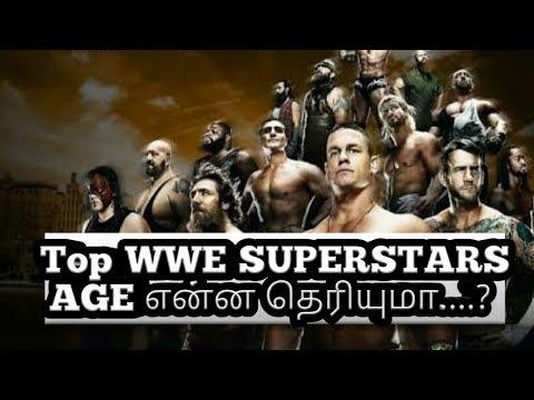 Top WWE SUPERSTARS AGE என்ன தெரியுமா....?
