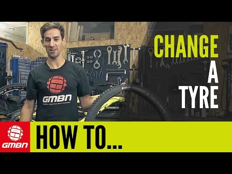 How To Change An MTB Tyre | Mountain Bike Maintenance