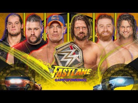 WWE Fastlane 2018 Highlights Match Card Prediction