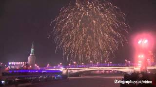 Watch: Best New Year fireworks 2015
