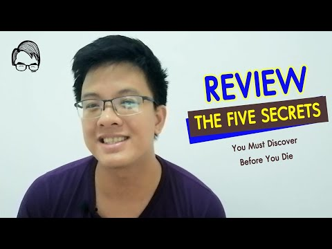 Book Review Ep2 รีวิวหนังสือ THE FIVE SECRETS You Must Discover(ความลับ5ข้อ​ที่คุณต้องค้นพบก่อนตาย)​