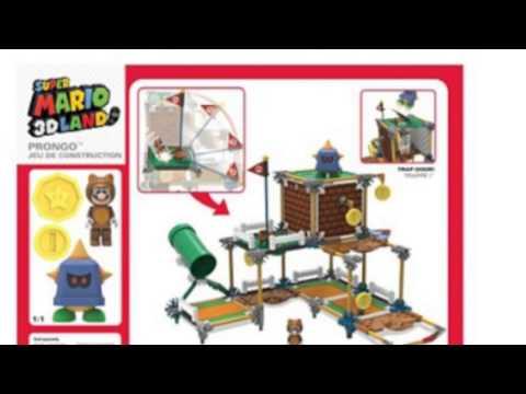 Video Knex Nintendo 3D Land Prongo Building now on YouTube