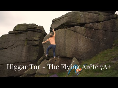 Higgar Tor - The Flying Arete 7A+