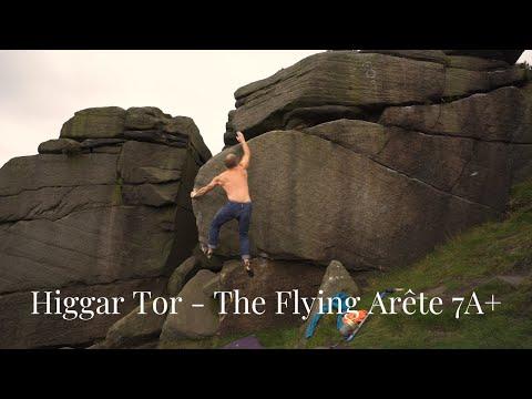 Higgar Tor - The Flying Arete 7A+