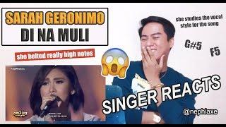 Video Sarah Geronimo - Di Na Muli (ASAP Natin 'To) | SINGER REACTS MP3, 3GP, MP4, WEBM, AVI, FLV Maret 2019