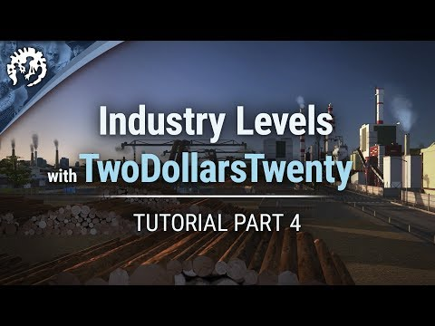 Industry Levels with TwoDollarsTwenty | Cities: Skylines Industries Tutorial Part 4