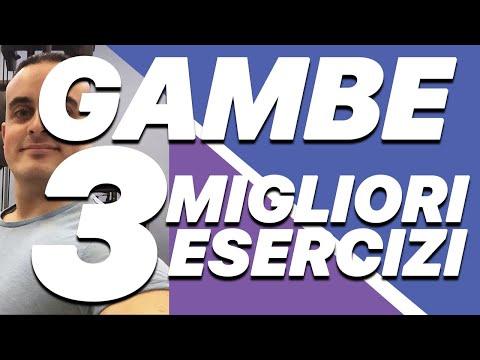 Esercizi Gambe: i 3 migliori