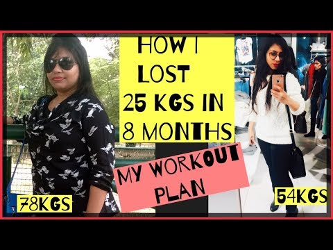 2 Week Diet - How I lost 25 kgs(NO GYM)  Workout Plan To lose 25kgs  Azra Khan Fitness