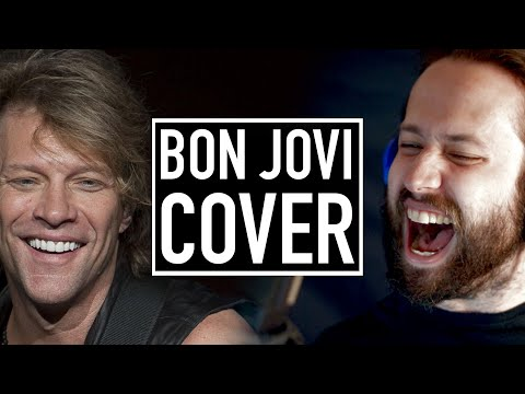 "Bon Jovi  ""Wanted Dead Or Alive"" Cover by Jonathan Young"