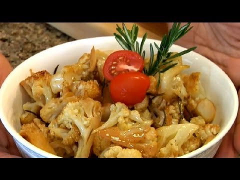 Roasted Cauliflower With Olive Oil & Salt : Greek Recipes