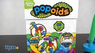 Popoids! Super creative funky building set for kids. Look at these unique shapes for flexible building excitement. 60 pieces for endless creativity. Check out this video to see all the creative building! For full review and shopping info► https://ttpm.com/p/23720/kahootz/popoids/?ref=ytProduct Info: Popoids are a 60 piece set of building fun. This creative building kit has stretchy tubes, connectors and all sorts of funky shapes for some wacky building excitement. All the pieces pop and connect together for lots of out of the box building. An idea guide is provided to help get the build going.✮SEE MORE TOYS✮ARTSPLASH 3D LIQUID ART:https://ttpm.com/p/23570/mattel/artsplash-3d-liquid-art/?ref=ytDC SUPER HERO GIRLS FROST:https://ttpm.com/p/23551/mattel/dc-super-hero-girls-frost/?ref=ytMARVEL SPIDER-MAN SWING AND SLING SPIDEY: https://ttpm.com/p/23125/just-play/marvel-spiderman-swing-and-sling-spidey/?ref=yt✮SUBSCRIBE TTPM Toy Reviews✮https://www.youtube.com/c/ttpm✮SUBSCRIBE TTPM Baby Gear Reviews✮https://www.youtube.com/c/ttpmbaby✮SUBSCRIBE TTPM Pet Toys & Gear Reviews✮https://www.youtube.com/c/ttpmpets✮SUBSCRIBE TTPM First Look Toys Unboxing✮https://www.youtube.com/c/ttpmfirstlooktoys✮FOLLOW US✮Facebook: https://www.facebook.com/TTPMOfficialTwitter: https://twitter.com/ttpmInstagram: https://instagram.com/ttpmofficial/Pinterest: https://www.pinterest.com/ttpmofficial/Snapchat: TTPMOfficial: https://www.snapchat.com/add/ttpmofficial✮FOLLOW TTPM Baby✮Facebook: https://www.facebook.com/TTPMBaby/Twitter: https://twitter.com/TTPMbabyInstagram: https://www.instagram.com/ttpmbaby/✮FOLLOW TTPM Pets✮Facebook: https://www.facebook.com/TTPMPetsTwitter: https://twitter.com/TTPMPetsInstagram: https://www.instagram.com/ttpmpets/Pinterest: https://www.pinterest.com/ttpmpets/Disclosure: Toys reviewed by TTPM are selected by the TTPM editorial team from submissions from manufacturers who provide the samples for review consideration. The views and opinions presented represent those of 