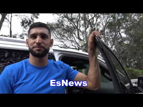 Amir Khan on some of the superstars he meets - EsNews Boxing (видео)