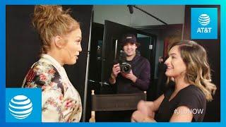 Video Jennifer Lopez SURPRISES SUPERFAN Chachi Gonzales | #JLoNOW | AT&T MP3, 3GP, MP4, WEBM, AVI, FLV Maret 2018