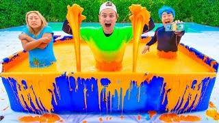 LAST TO LEAVE THE SLIME POOL WINS $10,000