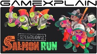 Splatoon 2 is out and we already streamed Turf War, but there's one big new mode left to check out, Salmon Run! Join Derrick as he takes on the Salmonid menace in order to earn cool rewards from Grizzco!---------------------------------Follow GameXplain!---------------------------------➤ PATREON:  https://www.patreon.com/GameXplain➤ FACEBOOK:: http://www.facebook.com/gamexplain➤ TWITTER: http://twitter.com/GameXplain➤ INSTAGRAM: https://www.instagram.com/gamexplain_official➤ GOOGLE+: https://plus.google.com/108004348435696627453⮞ Support us by shopping @ Play-Asia- http://www.play-asia.com/?tagid=1351441 & @ AMAZON- http://geni.us/wq8 ⮜