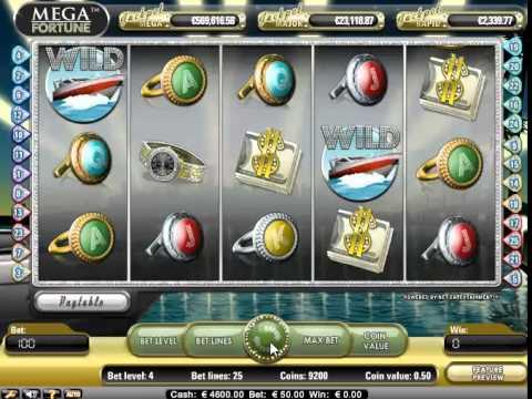 Mega Fortune Progressive Jackpot Slots