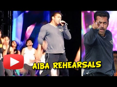 Salman Khan Dance At AIBA Rehearsals - Watch Now