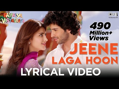Jeene Laga Hoon Video with Lyrics - Ramaiya Vastavaiya