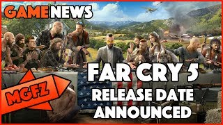 Far Cry 5 Release Date and Story Details Announced Hi Gamers Tom talks about far cry 5 story details and the release date, coming for ps4, xbox one, and pc D...