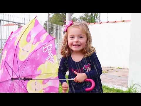 BRINCANDO NA CHUVA  - RAIN RAIN GO AWAY SONG FOR KIDS AND CHILDREN