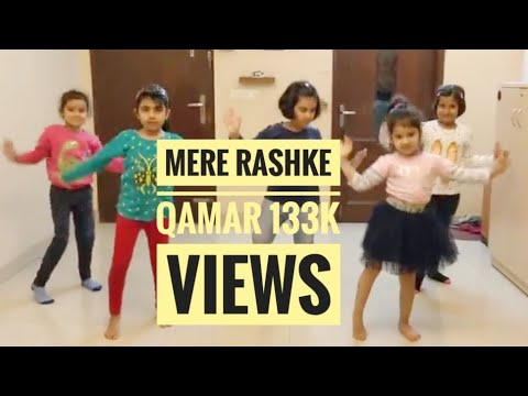 Video Mere Rashke Qamar / Badhshao l kids Bollywood Easy dance l Girls Group download in MP3, 3GP, MP4, WEBM, AVI, FLV January 2017