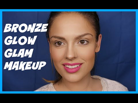 Bronze Second Skin Glow Makeup Tutorial (GLAM MAKEUP)