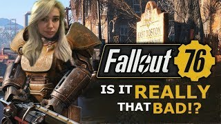 FALLOUT 76: is it REALLY that bad? | LIVE REVIEW