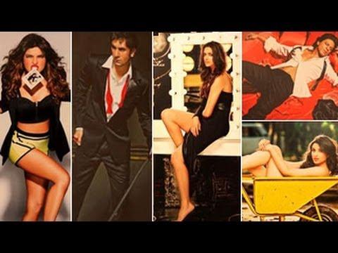 Bollywood Stars at Dabboo Ratnani's 2014 Calender