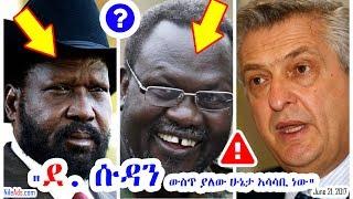 """""""ደቡብ ሱዳን ውስጥ ያለው ሁኔታ አሳሳቢ ነው"""" - ኮሚሽነር ፊሊፕ ግራንዲ - S Sudan Horn of Africa - VOA"""