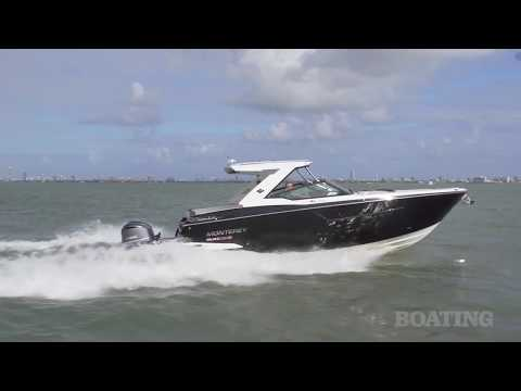Boating Magazine's Boat Test & Review On Monterey's  385SE