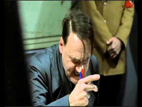 Hitler is informed of Jimmy Saville's dark past