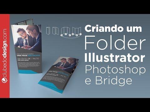 Criando um folder no Illustrator com Photoshop e Bridge