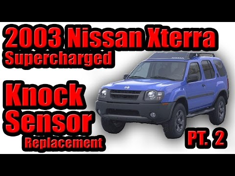 video 2003 nissan xterra supercharged knock sensor. Black Bedroom Furniture Sets. Home Design Ideas
