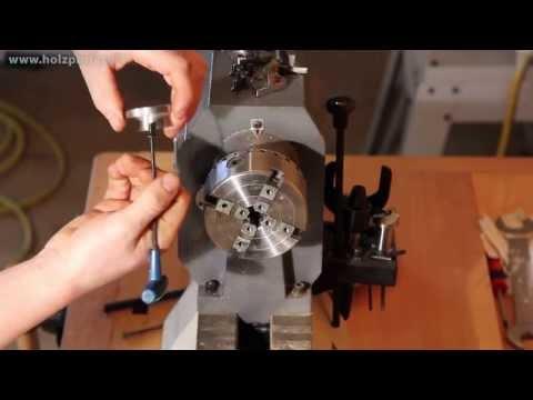 Spannfutter Set, Drechselfutter HS-DW96 zum Holz drechseln, Drechselzubehör