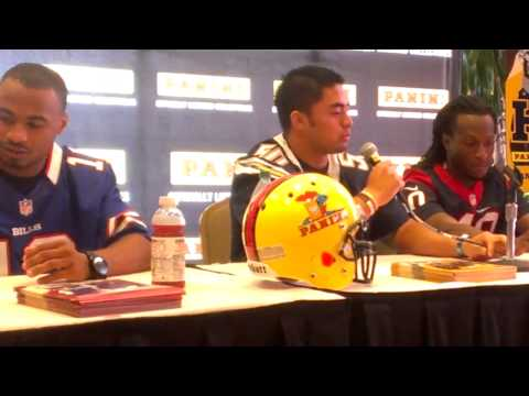 Panini Press Conference: NFL Rookies Talk Premiere_Amerikai football videk. Heti legjobbak