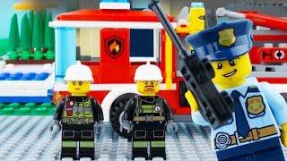 Video LEGO City Fire Truck STOP MOTION LEGO Fire Truck Rescue Brick Building   LEGO City   By Billy Bricks MP3, 3GP, MP4, WEBM, AVI, FLV Juli 2018