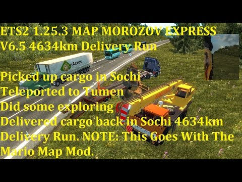 Map Morozov Express v6.5 for 1.25
