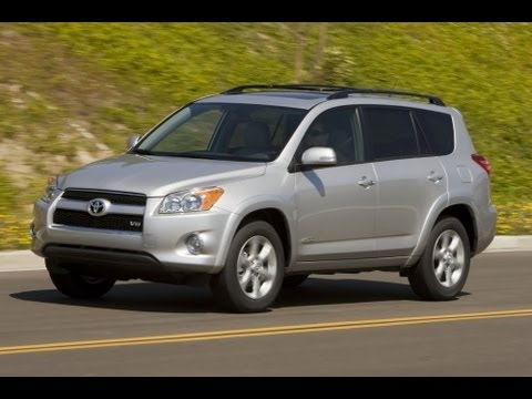 2012 Toyota RAV4 Start Up and Review 2.5 L 4-Cylinder