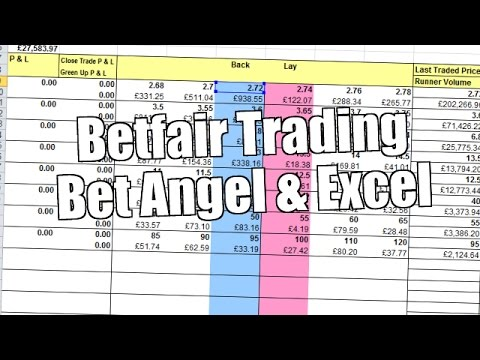 Automated Betfair trading with Bet Angel and Excel 2/3