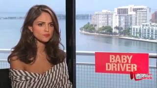 Eiza Gonzalez la sexi de Baby Driver