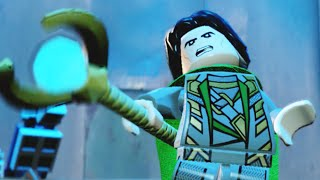 """Lego Marvels Avengers Loki's Earth Arrival Boss Fight """"The Avengers"""""""