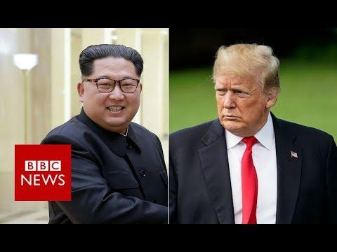 Trump pulls out of North Korea summit - BBC News