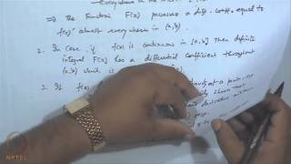 Mod-41 Lec-44 Fundamental Theorems Of Integral Calculus