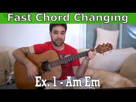 22 Exercises to Master Chord Changing – Beginner Guitar Lesson Tutorial