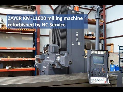 Fresadora CNC ZAYER KM 11000 1992