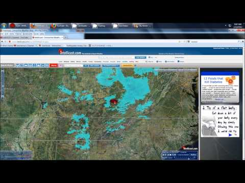HAARP ring' forecast — IL, IN, OH, KY, TN, AL — watch for